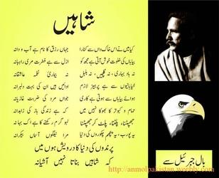 Allama iqbal poetry in urdu photos